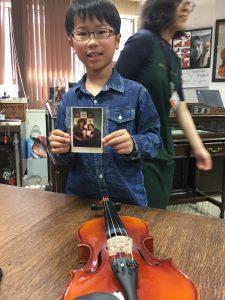 バイオリン初心者 練習